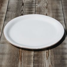 Assiette ø 28 cm * Couleur : Bianco * Marque : CASAgent Plates, Tableware, Kitchen, Italy, Licence Plates, Dishes, Dinnerware, Cooking, Griddles