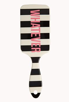 Whatever Striped Brush Forever 21 Accessories, Hair Accessories, Superstay Maybelline, Unicorn Wings, Gorgeous Hair Color, Detangling Brush, Hair Color And Cut, Hair Brush, Cut And Style