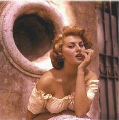 Sophia Loren by Ormond Gigli