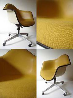 My dreamy yellow Eames.