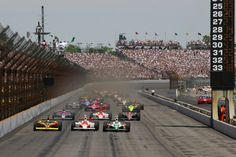 Indianapolis, Indiana — The Indianapolis 500‐Mile Race is the largest single‐day sporting event in the world. The legendary race celebrated its 100th running in 2011. Courtesy of Visit Indy.