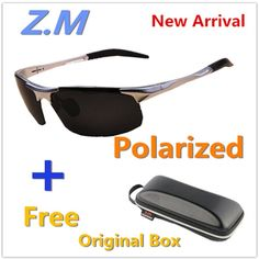 9a2122c80a Sunglasses Men Polarized Oculos de Sol Masculino Summer Driving Glasses Z.M  8177-N Tour Alumin