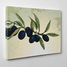 En Modern Tablolar hepsikampanyali.com da Olive-Branch Kanvas Tablo , Modern, Trendy Tree