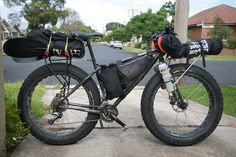 Fat bike Touring