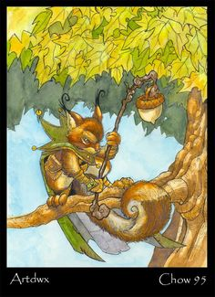 CHOW #095 - Squirrel Mage FINAL BURNING