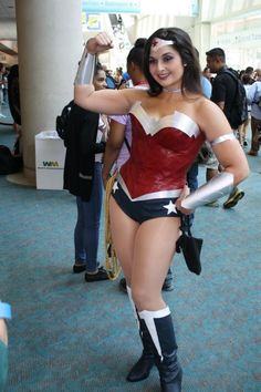 Wonder Woman Cosplay from #SDCC