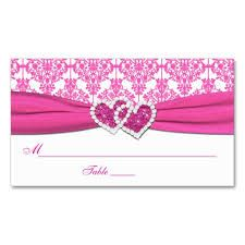 Cool pink and white cards
