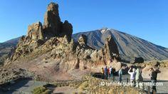 Los Roques García and El Teide