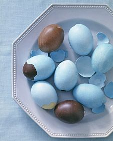 chocolat eggs in eggshells, maybe one day....