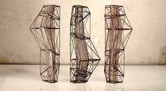DAAST design by Andrew Southwood-Jones & Alexander Kashin Conceptual Architecture, Architecture Drawings, Architecture Details, Public Architecture, Residential Architecture, Sculpture Metal, Abstract Sculpture, Arch Model, Parametric Design