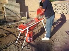 Home Made Trommel (Page / Do It Yourself (DIY) Projects / Prospecting Australia - Gold Prospecting & Fossicking Forum Pvc Projects, Backyard Projects, Agriculture, Gold Sluice, Gold Mining Equipment, Red Worms, Compost Tumbler, Natural Farming, Gold Prospecting