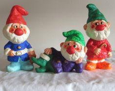 Homco Christmas Elves Christmas Decor