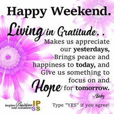 Living in Gratitude..☮♡ .