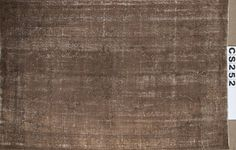 Overdyed Vintage Hand Woven Turkish Rug  5.77 by ArtcoreIstanbul, $870.00