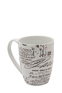 DECAL SCRIPT MUG - Mr Price Home Mr Price Home, Script, Decals, Mugs, Tableware, Kitchen, Cuisine, Tags, Dinnerware