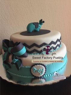 Pastel Baby Shower niña Sweet factory Puebla Chef Luciana Proietti www.sweetfactorypuebla.com Tel: 2223 28 08 12