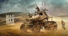 ArtStation - Reliant Robin _ Mad Max Fury Road, Yasid Oozeear