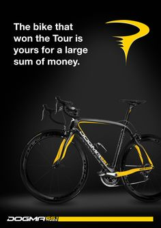 Ltd Edition Dogma 65.1 released by Pinarello in celebration of this years Tour de France victory.  via Armstrong Sport.