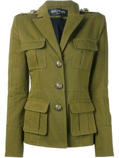 Balmain Military Jacket - L'espionne - Farfetch.com - 1795