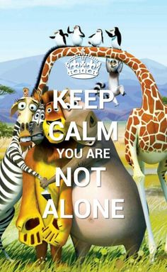 You Are Not Alone with madagascar..!!
