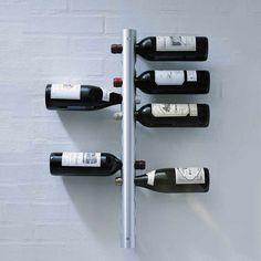 40 Unique Wine Racks & Holders For Storing Your Bottles With Style Wine Bottle Storage, Wine Rack Storage, Bottle Wall, Wine Rack Wall, Wine Bottle Holders, Traditional Wine Racks, Unique Wine Racks, Wine Shelves, Whisky