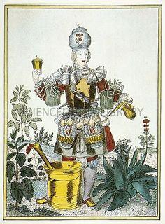 Nicolas de Larmessin II, Costumes Grotesques; Habit de