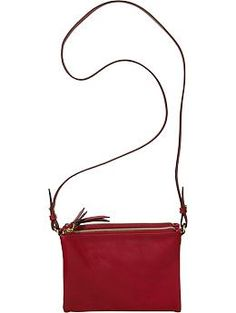 Women's Faux-Leather Crossbody Bags   Old Navy