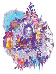 Portugal. The Man: Not only great music but also great artwork by lead singer John Gourley...
