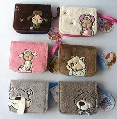 NICI Sheep bear coin bag purse new 1pcs 11.95