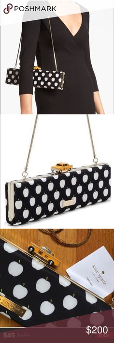 Please help me find this deal! NOT FOR SALE!!! I'm searching for this taxi clutch that sold on here for $45. I'd love to have one because my daddy was a taxi driver. It's very nostalgic for me. Please keep your eyes open for me or if you have this in your closet and are willing to make my day with a deal like this, then please message me!!! Thank you! Happy Poshing☺️ kate spade Bags Clutches & Wristlets