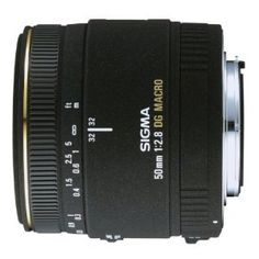 Sigma 50mm f/2.8 EX DG Macro Lens for Nikon SLR Cameras by Sigma. $369.00. Amazon.com                 Sigma launched its first standard 50mm macro lens in 1990, and followed it up with an improved model in 1998. The advent of digital SLR cameras, however, required updated optical technology and a better imaging performance. Enter the latest incarnation of the 50mm macro lens, with an improved design that corrects for various aberrations. Designed exclusively for...