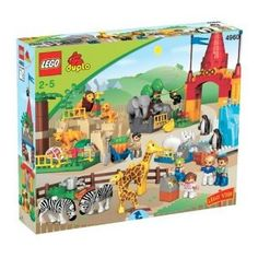 Duplo Lego Ville Friendly Zoo 4968 By Lego 199 99