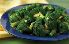 Alkaline Recipes | Steamed Broccoli with Garlic and Lemon