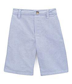 Class Club 2T-7 Blue Oxford Shorts | Dillards.com