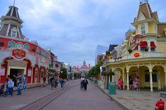Main Street Disney Paris