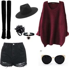 Witchy. by kaycie-marie-surrell on Polyvore featuring polyvore, fashion, style, Topshop, Stuart Weitzman, Eddie Borgo, Rock 'N Rose, rag & bone and Una-Home