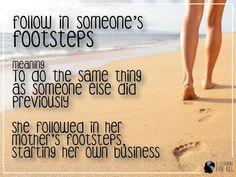 Expressões em inglês: follow in someone's footsteps