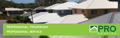 Welcome to Pro Roofing Brisbane Contractors for Residential & Commercial Metal Re-roofing