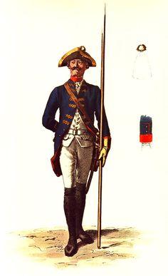SOLDIERS- Menzel: SYW- Prussia: Prussian Kürassier-Regiment von Buddenbrock No…