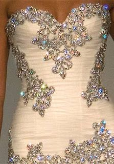 Intense Bling Wedding Dress | fashion designer 2012.... Normally don't pin wedding stuff, but this is seriously GORGEOUS