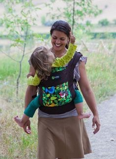 Boba 3G Baby Carrier - Go, Baby, Go! Looking forward to getting this carrier. It is so comfy, all weight is carried on the hips! Love the Tweet pattern!