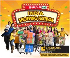 #SPARIndiaShoppingFestival  Only 10 days left for the curtains to come down on India's hottest shopping festival.  Just step into a SPAR India hypermarket to grab the offers and collect your ASSURED GIFT. Shopping was never such fun!