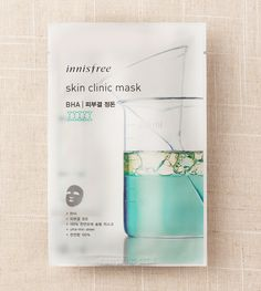 The maker of some of my all-time favourite sheet masks, the Skin Clinic line of masks from Innisfree focus on studied actives to remedy specific skin concerns. Their BHA mask is a thing of wonder for oilier skin types, refining pores, and reducing the formation of blemishes and acne. Beta Hydroxy Acids gently exfoliate the skin's surface and reduce the appearance of blackheads, whilst plant extracts and antioxidants revitalise and protect skin.