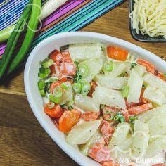 Schnelles Kohlrabi-Möhren-Gratin - Essen ohne Kohlenhydrate