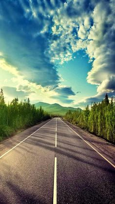 Imagem de hi, clouds, and nature