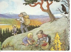 Solve Rolf Lidberg-picking berries jigsaw puzzle online with 266 pieces Fairy Sketch, Great Days Out, Christmas Images, Fantasy World, Faeries, Pretty Pictures, Art Drawings, Drawing Art, Watercolor Paintings
