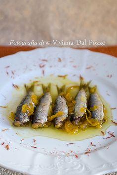 sarde alla ghiotta Pizza Recipes, Fish Recipes, Seafood Recipes, Tapas, Antipasto, Aesthetic Food, Seafood Dishes, Finger Foods, Italian Recipes