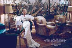 Голливудская актриса Кейт Бланшетт для журнала Harper's Bazaar China ноябрь 2013
