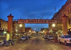 Stockyards: Fort Worth Texas - This is where we went bar hopping back in the day. :-)