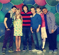 The Group(: Kickin It Cast, Leo Howard, Olivia Holt, Disney Xd, Kicks, Group, Wallpaper, Beautiful, Fashion